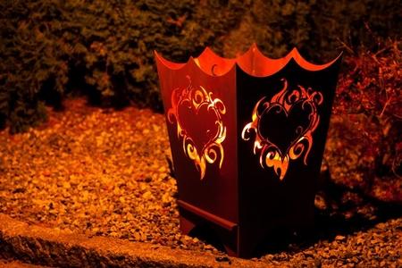 Vuurkorf Vlammen Hart