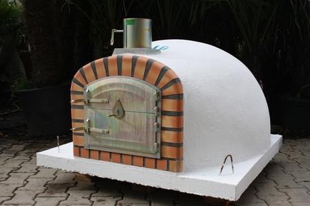 Houtoven, Pizza oven Livorno 110 cm met hoge deur