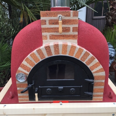 Pizzaoven Traditional brick  100/70  Nieuw model !