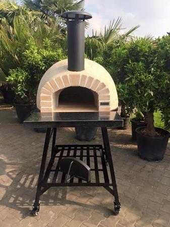 Amalfi Mediterranean oven AD70 REAL brick Rustic