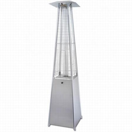 Flameheater Eiffel RVS 220cm hoog