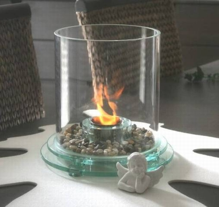 Glashaard Glass & Fire 1015 style rond exclusief!