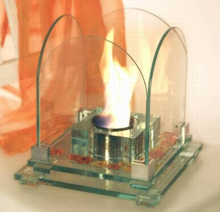 Glashaard Glass & Fire 1027 Square round