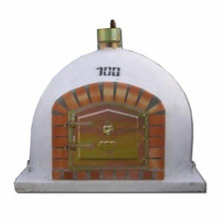 Houtoven, Pizza oven 100 cm met schoorsteen UITVERKOCHT