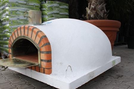 Houtoven, Pizza oven Pisa 120 cm met  brede deur UITVERKOCHT