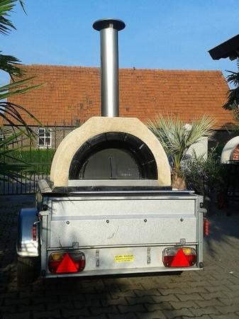 Verhuur Pizza oven Amalfi Family op aanhangwagen