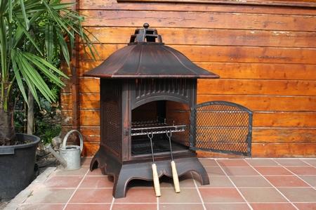 Vuurkorf Apollo Small Square + BBQ