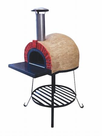 Amalfi Mediterranean portable oven 60 Red Brick Arch