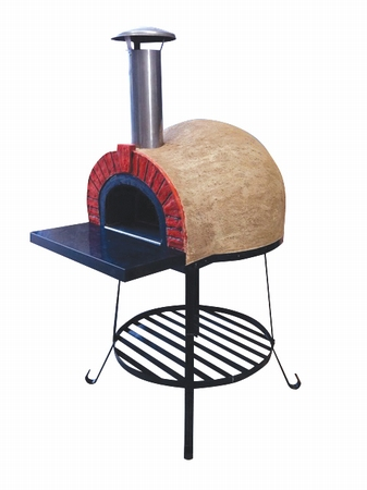 Amalfi Mediterranean portable oven 60 Red Brick