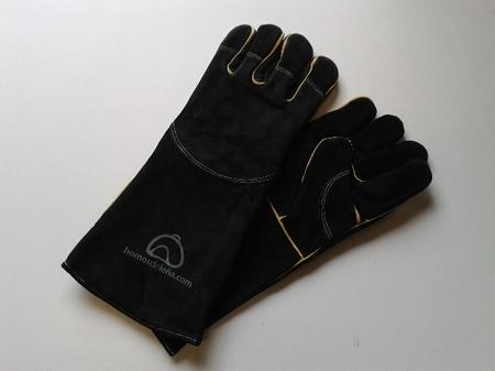 Handschoenen zwart 5 vingers