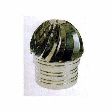 Draaibare kap INOX / diameter 200mm