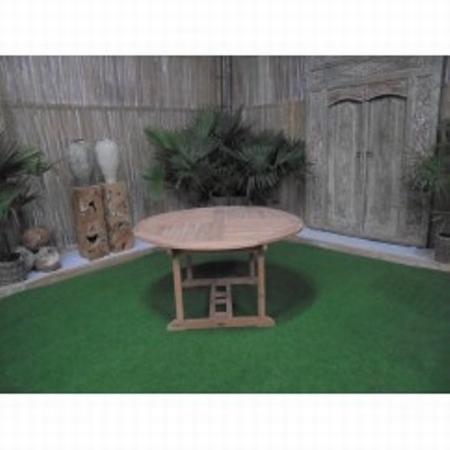 Teakhout ronde tafel Ø150cm