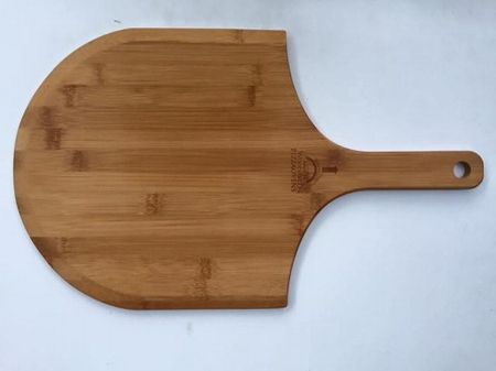 Set van 6 stuks bamboe pizzaplank/half rond