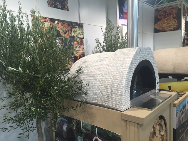 Amalfi Mediterranean oven AD90 betegeld