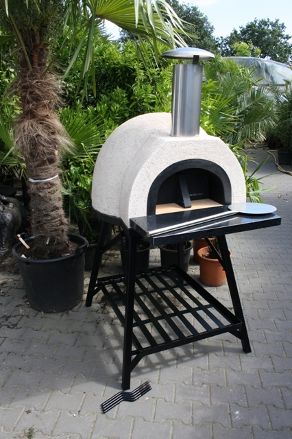 Amalfi Mediterranean portable oven 60 Black Front