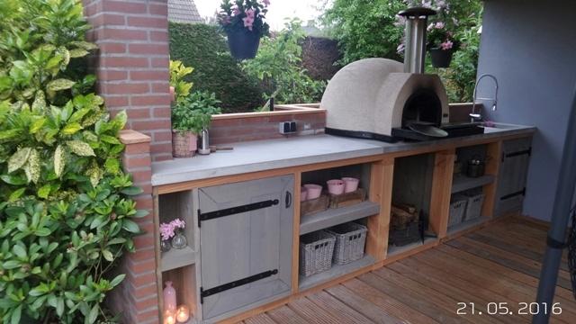 Amalfi Mediterranean portable oven 60 Black FrontUITVERKOCHT