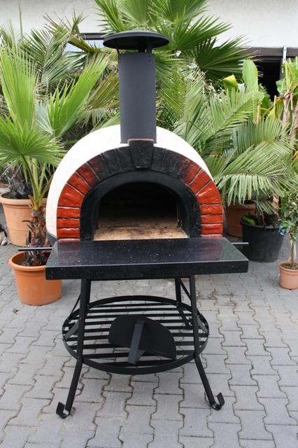 Amalfi Mediterranean portable oven 70 Red Brick Arch
