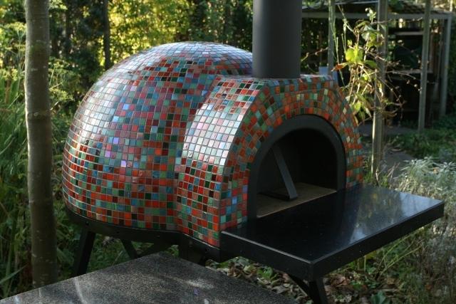 Amalfi Mediterranean portable oven70 Black Front