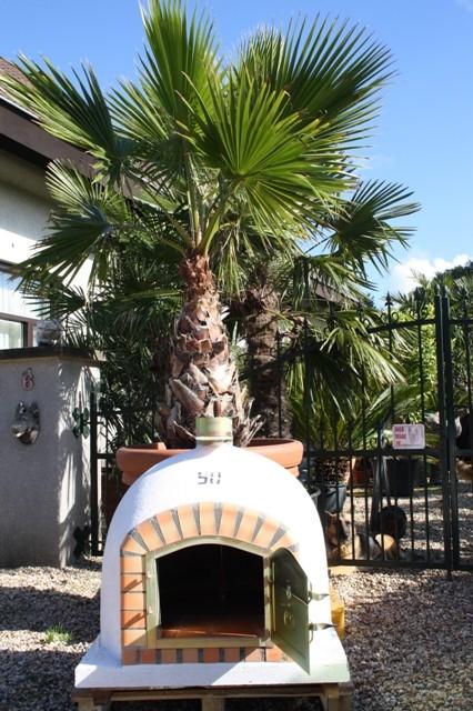 Houtoven, Pizza oven 90 cm met schoorsteen UITVERKOCHT