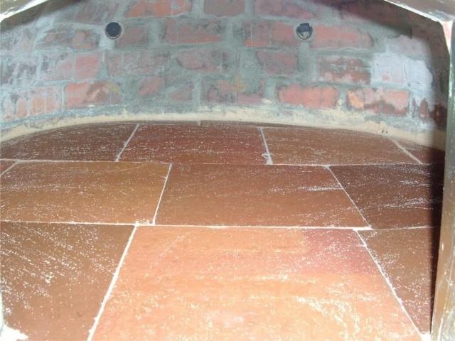 Houtoven, Pizza oven 90 cm met schoorsteen