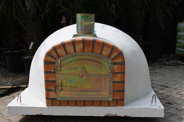 Houtoven, Pizza oven Livorno 120 cm met hoge deurUITVERKOCHT