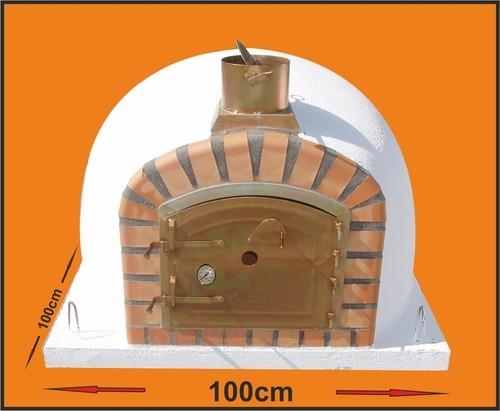 Houtoven, Pizza oven Livorno100 cm met hoge deur