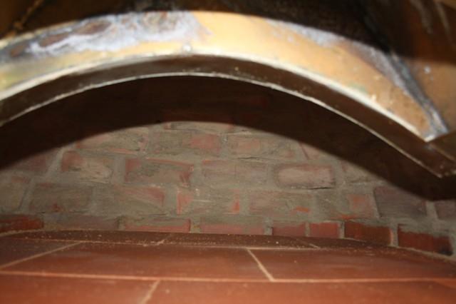 Houtoven, Pizza oven Pisa 100 cm met  brede deur