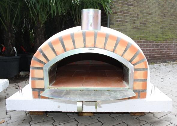 Houtoven, Pizza oven Pisa 110 cm met brede deur