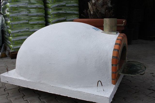 Houtoven, Pizza oven Pisa 120 cm met  brede deur