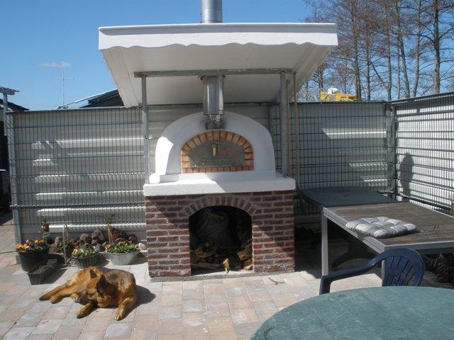 Houtoven, Pizza oven Pisa 120 cm