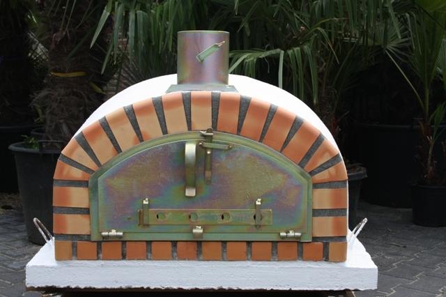 Houtoven, Pizza oven Pisa 90 cm met brede deur