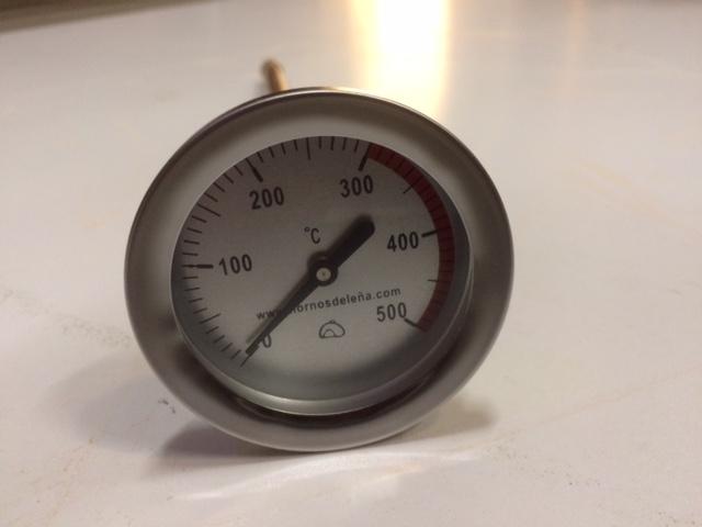 Muur thermometer pizza oven / 30cm