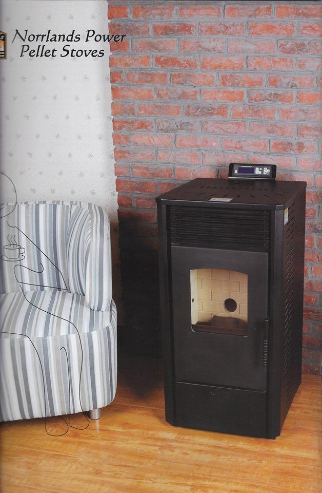 Pelletkachel Norrlands Power PS-50