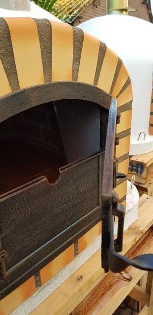 Pizza oven Livorno geïsoleerd 100 cm