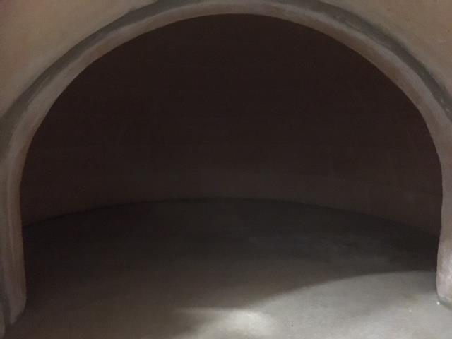 Pizzaoven Tonino Rojo 110/80cm