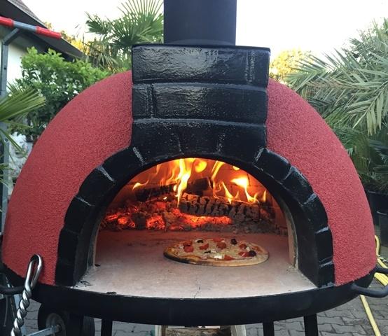 Pizzaoven Tonino Rojo 94/70cm
