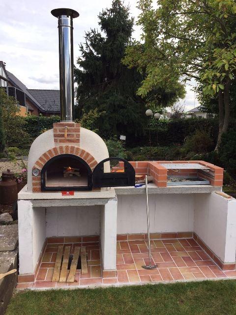 Pizzaoven Traditional brick  100/70  Nieuw!