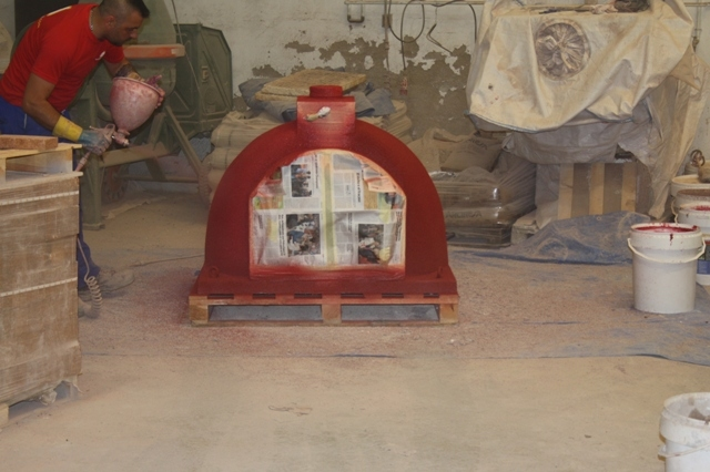 Pizzaoven Traditional brick 110/80cm