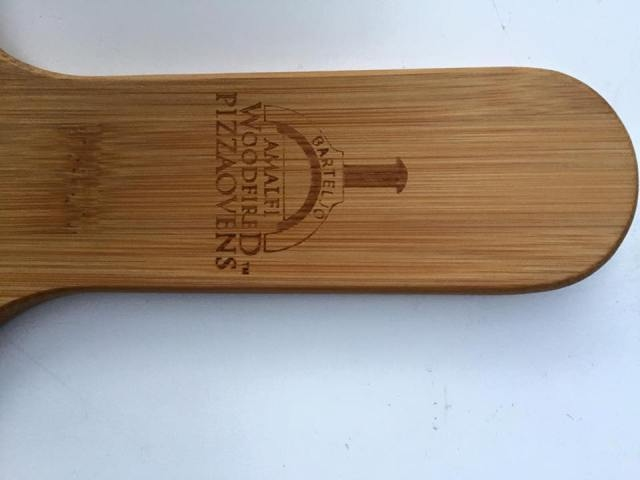 Pizzaplank bamboe / half rond