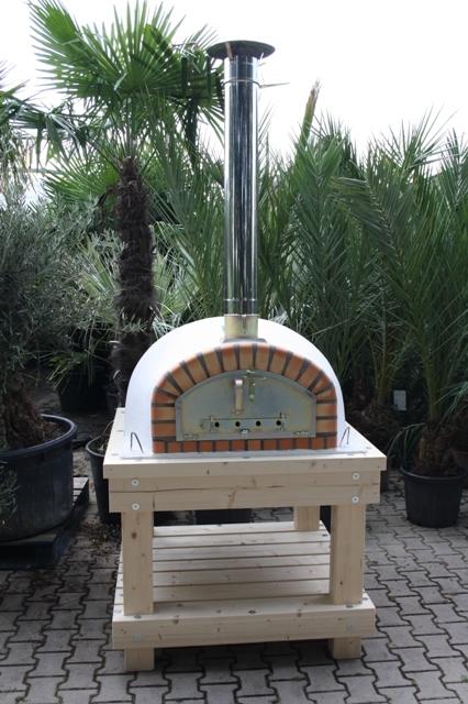 Robuust houten onderstel voor ovenmaat 100x100 cm
