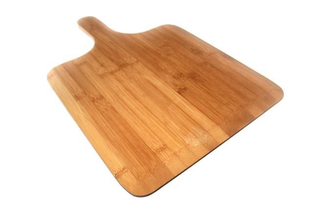 Set van 6 stuks Bamboe Pizza planken / recht