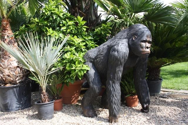 Tuinbeeld Gorilla - Bokito