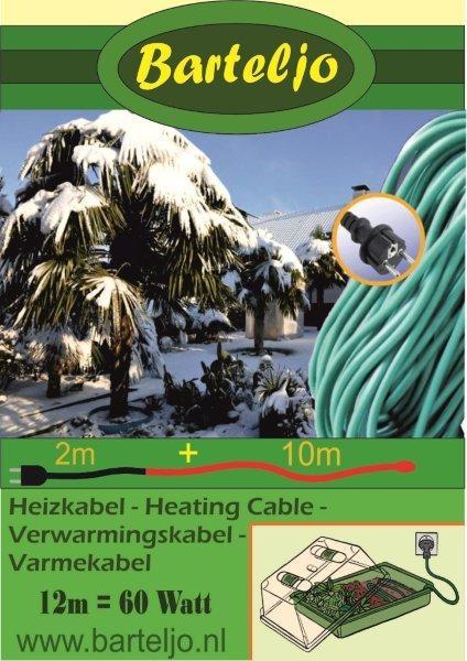 Verwarmingskabel Barteljo 12 meter