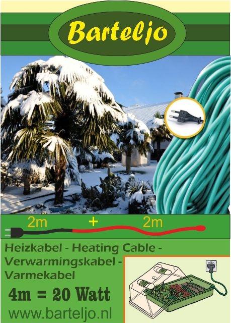 Verwarmingskabel Barteljo 4 meter