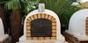 Pizza oven Livorno geïsoleerd 100 cm gietijzeren deur