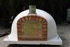 Houtoven, Pizza oven Livorno 120 cm met hoge deur