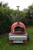 Verhuur Pizza oven Economic op aanhangwagen
