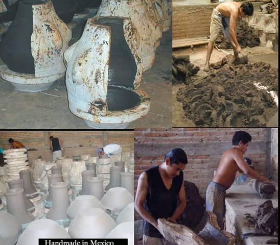 Productie Mexicaanse tuinhaarden