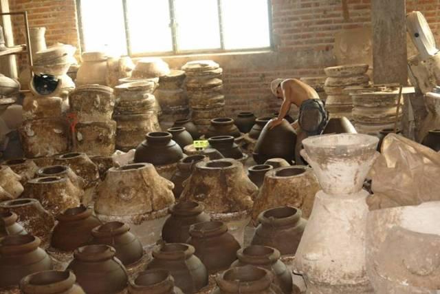 Productie Mexicaanse terraskachels